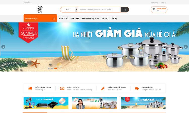 Thiết kế website bán hàng - NDWEB001570